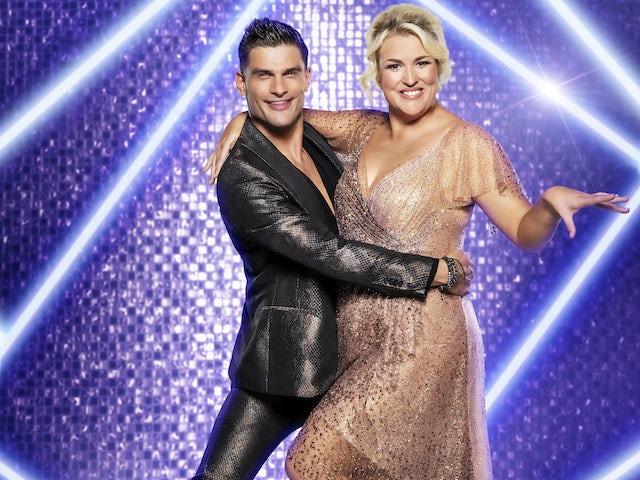 Sara Davies and Aljaz Skorjanec on Strictly Come Dancing 2021