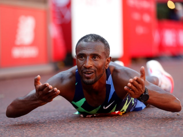 Result: Ethiopia's Sisay Lemma eases to elite men's London Marathon victory
