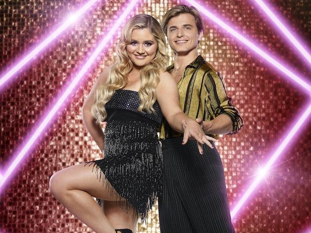 Tilly Ramsay and Nikita Kuzmin on Strictly Come Dancing 2021