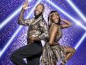 Ugo Monye and Oti Mabuse on Strictly Come Dancing 2021