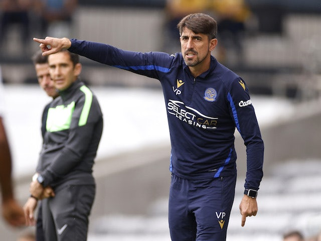 Reading manager Veljko Paunovic pictured on September 18, 2021