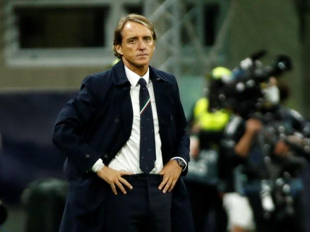 L'allenatore dell'Italia Roberto Mancini fotografato il 6 ottobre 2021