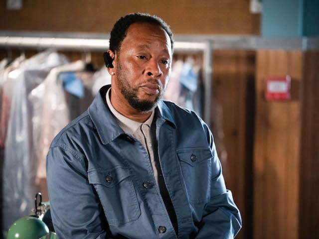 Mitch on EastEnders on October 11, 2021