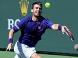 Cameron Norrie pictured at the Indian Wells Masters in October 2021