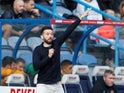 Huddersfield Town manager Carlos Corberan on October 16, 2021