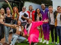 Celebrity Ghost Trip series one cast