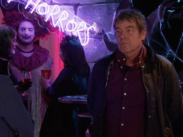 Johnny on the first episode of Coronation Street on October 20, 2021