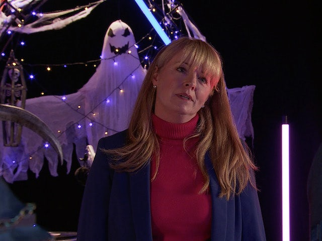 Jenny on the first episode of Coronation Street on October 20, 2021