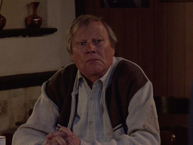 Roy on the first episode of Coronation Street on October 22, 2021
