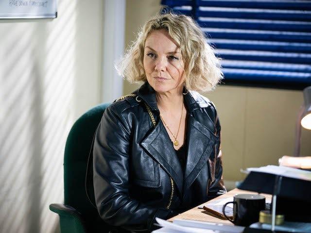 Janine on EastEnders on October 18, 2021