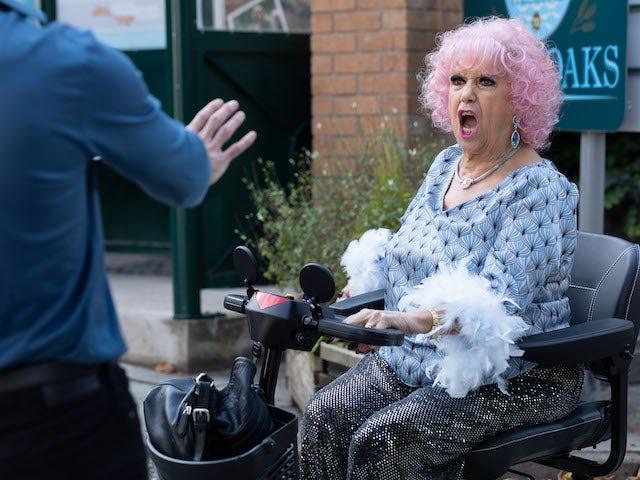 Nana on Hollyoaks on October 19, 2021