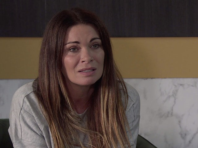 Carla on the first episode of Coronation Street on October 18, 2021