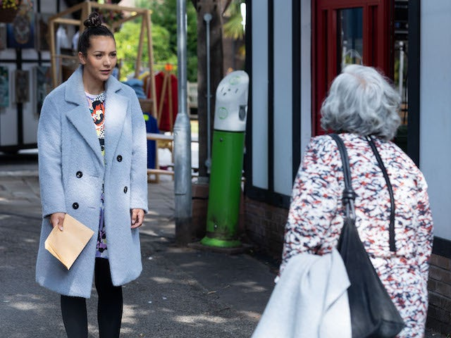 Cleo on Hollyoaks on October 21, 2021