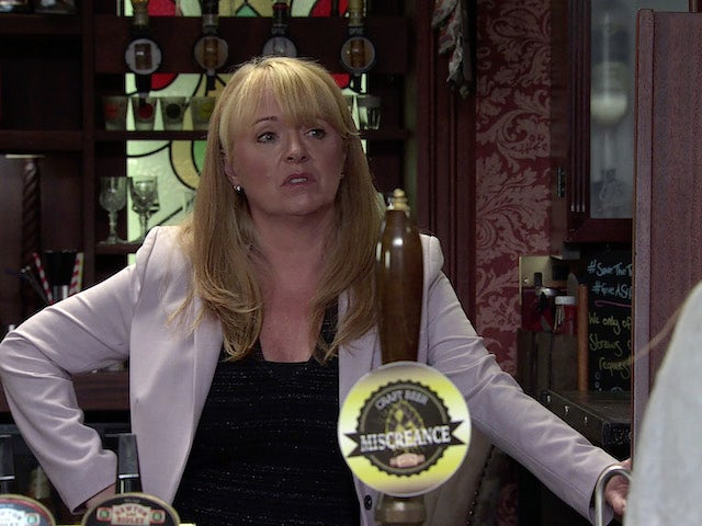 Jenny on the second episode of Coronation Street on October 18, 2021