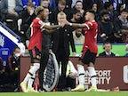Marcus Rashford makes Manchester United return against Leicester City