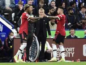 Marcus Rashford makes Man United return against Leicester