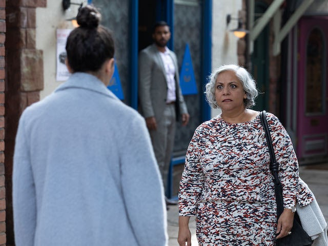 Misbah on Hollyoaks on October 21, 2021
