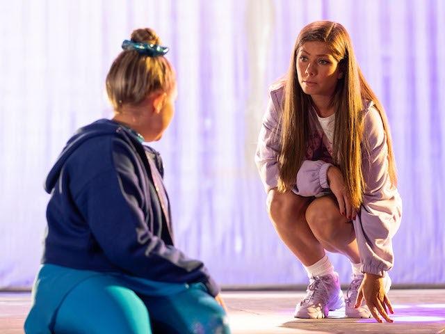 Maxine on Hollyoaks on October 20, 2021