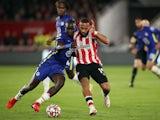 Chelsea defender Malang Sarr on his Premier League debut against Brentford on October 16, 2021