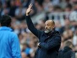 Tottenham Hotspur coach Nuno Espirito Santo on October 17, 2021