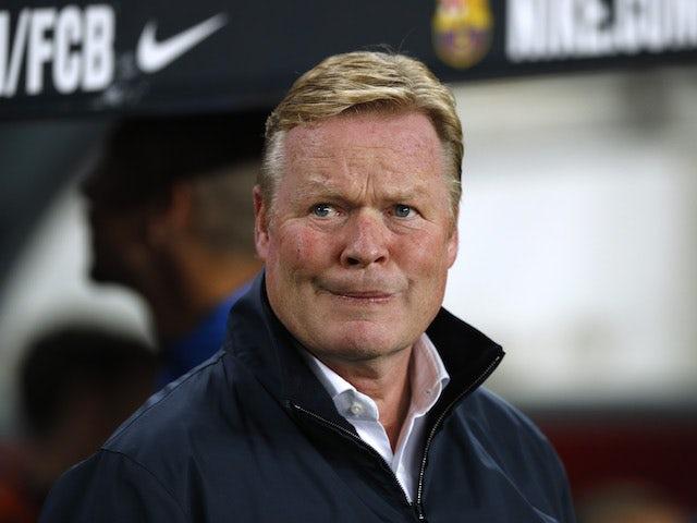 Barcelona sack Ronald Koeman as head coach