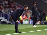 Atletico Madrid coach Diego Simeone on October 19, 2021