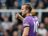 Harry Kane in action for Tottenham Hotspur in October 2021