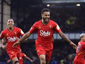 Watford's King nets hat-trick in Goodison Park return