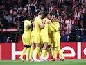 Liverpool's Naby Keita celebrates scoring their second goal with teammates on October 19, 2021