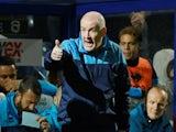 Queens Park Rangers manager Mark Warburton on October 19, 2021