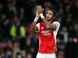 Arsenal's Pierre-Emerick Aubameyang pictured in October 2021