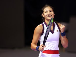 Emma Raducanu claims first win since US Open in Romania