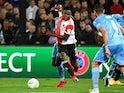Feyenoord's Luis Sinisterra in action on September 30, 2021