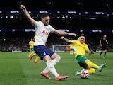 Matt Doherty in action for Tottenham Hotspur in August 2021