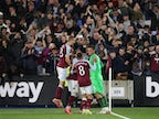Result: Manchester City knocked out of EFL Cup by West Ham United on penalties