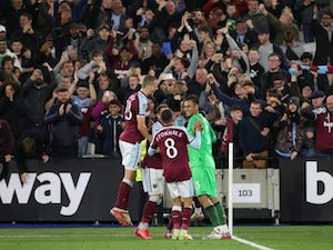 Man City knocked out of EFL Cup by West Ham on penalties