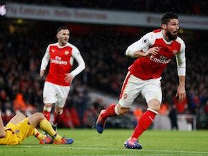 On This Day: Olivier Giroud scores scorpion kick against Crystal Palace