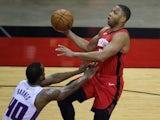 Houston Rockets's Eric Gordon in action against the Sacramento Kings on January 2, 2021