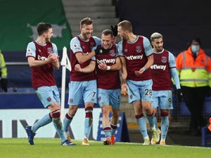 Tomas Soucek scores again as West Ham prevail at Everton