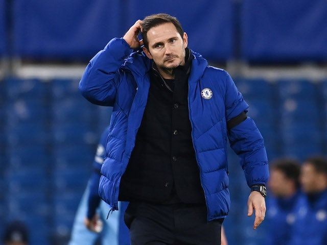 Chelsea 'considering sacking Frank Lampard'