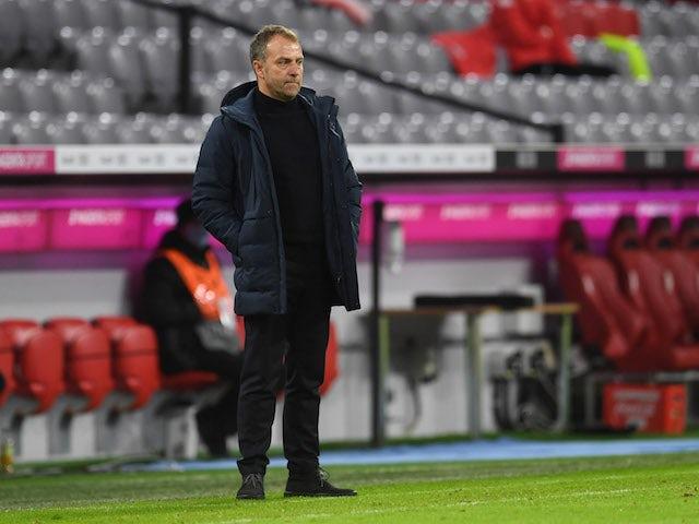 Bayern Munich coach Hansi Flick pictured on January 3, 2021