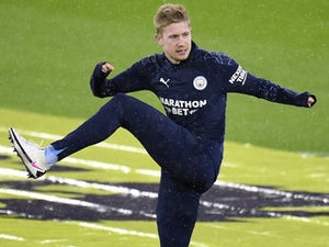 """Pep Guardiola insists he is """"not worried"""" about Kevin De Bruyne's contract"""