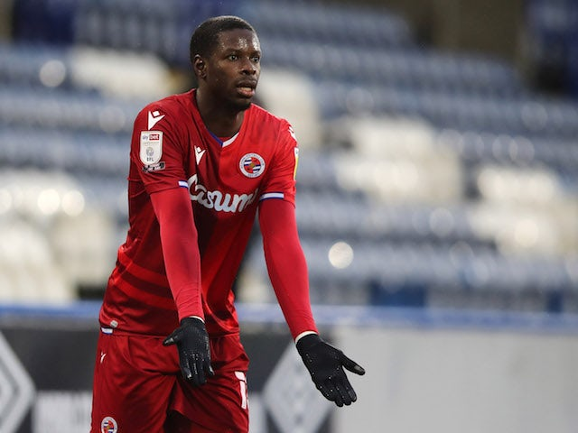 Reading's Lucas Joao reacts on January 2, 2021
