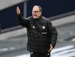 Leeds United manager Marcelo Bielsa pictured on January 2, 2021