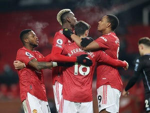 Manchester United level on points with Liverpool after Aston Villa win