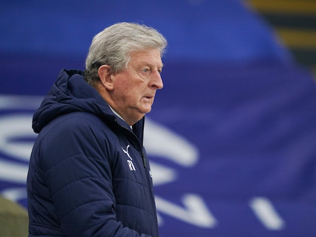 Crystal Palace manager Roy Hodgson pictured on January 2, 2020